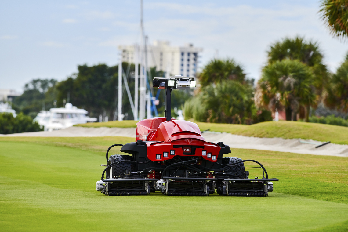 Toro concept mower (not currently in production)