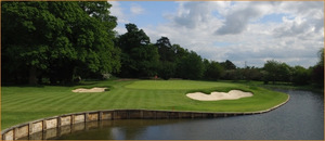 The new look 7th hole at The Buckinghamshire