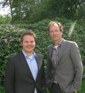 EIGCA Associate Members, Philip Spogárd (left) and Michiel van der Vaart