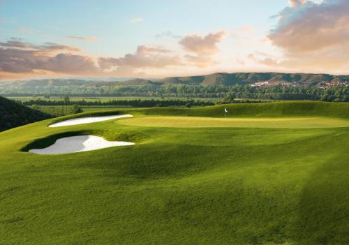 Golf jard n de aranjuez work done by marco martin an eigca for Golf jardin de aranjuez