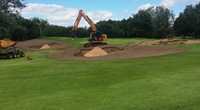 Tytherington Golf Club bunker reconstruction