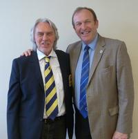 Rainer Preissmann, EIGCA President (left) with Jerry Kilby, CMAE CEO (right)