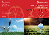 England Golf: Golf Club Membership Questionnaire Results Book 2012