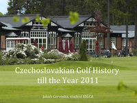 History of Golf CZE