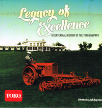 Toro Legacy of Excellence
